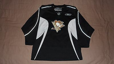Pittsburgh Penguins Black #8 Reebok Youth Size XL NHL Hockey Practice Jersey