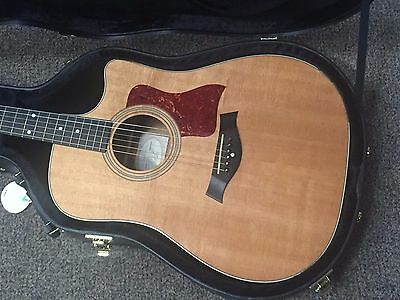 Taylor 410ce Acoustic Electric Guitar 2005 Natural USED Good Condition w/ Case