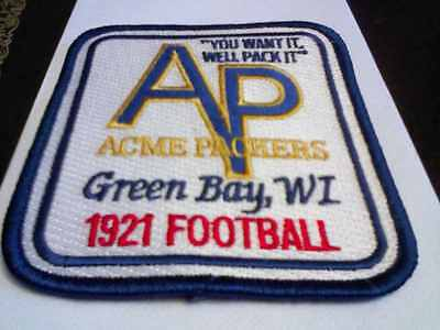 Was $ 12.95. ACME PACKING COMPANY PATCH,ESTABLISHED 1921  PACKERS,large Edition,