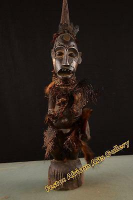 Old Tribal Songye Figure Congo Africa 42