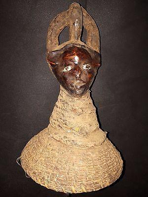 Antique Figure the Ekoi Nigeria Africa fes4410