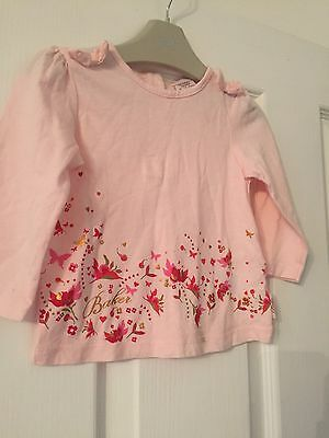 Baby Girls Ted Baker Top 9-12 Months