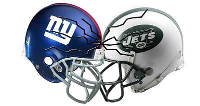 New York GIANTS vs JETS (2) Tickets Section 309 Row 13 8/26/2017 + Parking Pass!