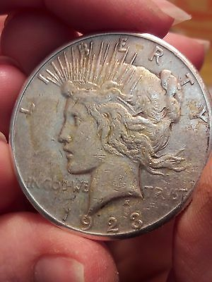 1923 S Peace Dollar Silver Dollar L@@k $1 Collectible