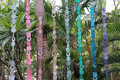 NEW Balinese Capiz Shell Hanging Strand / Mobile - MANY COLOURS