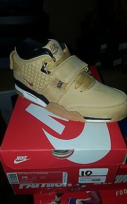 1868eaca14629d New Nike Air Trainer Victor Cruz PRM Haystack Wheat Flax Size 10 812637 700