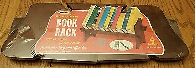 Vintage Nevco Portable Book Rack 1968 NEW SEALED Free Shipping NOS