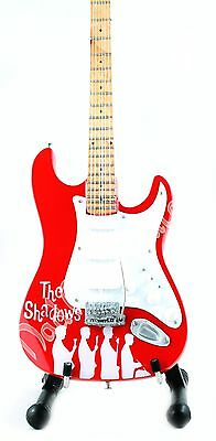 Miniature Guitar THE SHADOWS with free stand. Hank Marvin