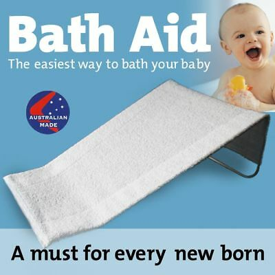 NEW Baby Bath Aid for newborn till baby sits 100% cott.