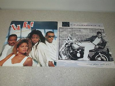 "LA RUE / GRADY HARRELL 12.5"" PROMO ONLY 1989 Double Sided Poster RARE R&B HipHop"