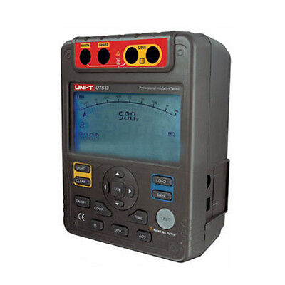 UNI-T Iron Gray 1 set UT511 1000V Insulation Resistance Tester O9L7
