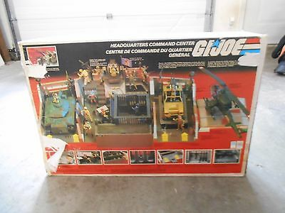 Vintage 1983 Hasbro Gi Joe Headquarters Command Center In Box