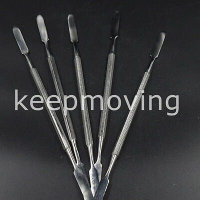 Dental Stainless Cement Spatula Dental Wax Amalgam Mixing Spatulas Double Ended