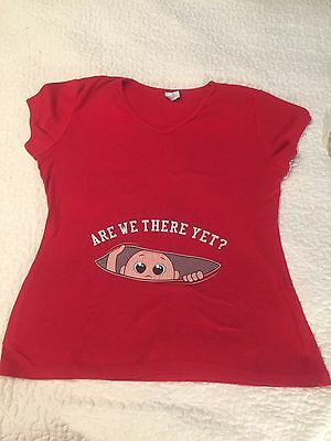 Maternity Baby Peeking Shirt Funny Pregnancy Cute Announcement Pregnant T shirts