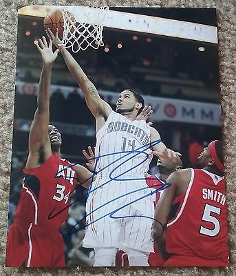 NBA NUGGETS DJ AUGUSTIN AUTOGRAPHED SIGNED 8x10 BASKETBALL PHOTO COA JSA PSA