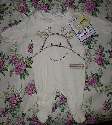 ** BABY BABY one-piece Size 00000 - new with tags **