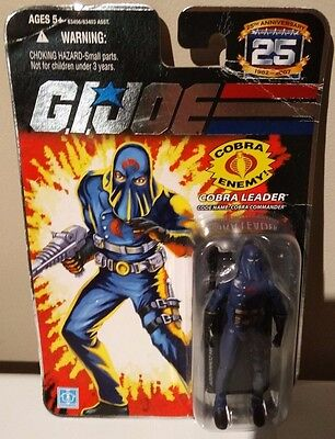 Brand New Gi Joe Cobra Commander