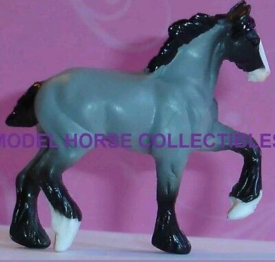 Breyer PRINCE 2016 Surprise bag Series 2 Mini Whinnie grey HIGH STEPPING DRAFT