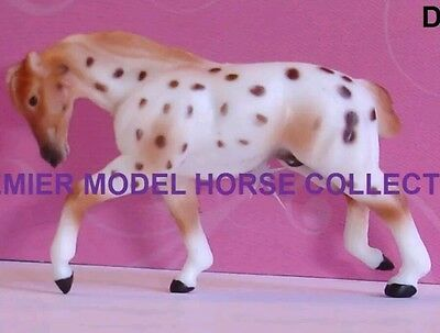 Breyer DANI Red Leopard Appaloosa PULLING DRAFT Surprise Series 2 Mini Whinnie