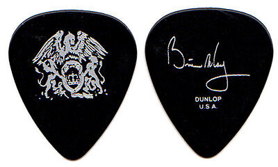 QUEEN Guitar Pick : 2000s Tour - Brian May signature picks silver black