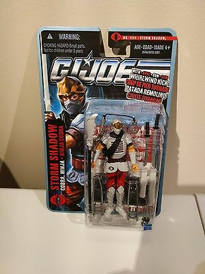 Brand New Gi Joe Storm Shadow - Open Box
