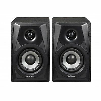 "Tascam VL‑S3 Desktop Active 2‑Way 3"" Home Studio Recording Monitors Pair VLS"