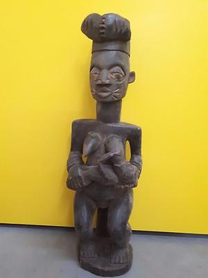 The Old Yoruba Epa Female Figure Nigeria Africa Fes-095