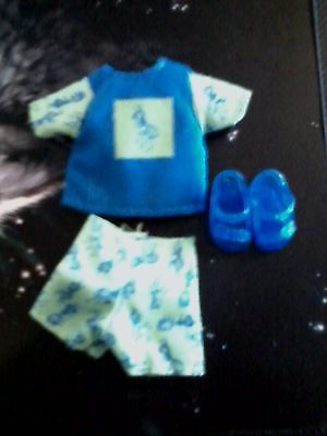baby Kelly TOMMY Ryan Blue Green Summer ANTS SHIRT SHORTS Clothes SANDALS Shoes