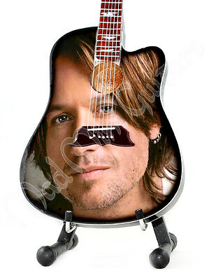 Miniature Guitar KEITH URBAN with free stand