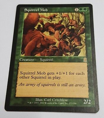 Magic: the Gathering MTG Squirrel Mob Odyssey NM