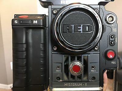 Red Scarlet X (MX) DSMC Body w/ Canon mount, Side SSD Module - Low Hours