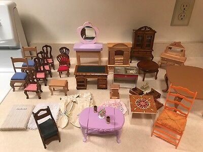 Lot of VARIETY of  Doll house Furniture