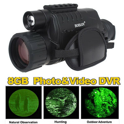 Night Vision Goggles Monocular IR Surveillance Camera Home for Rifle Scope A27R