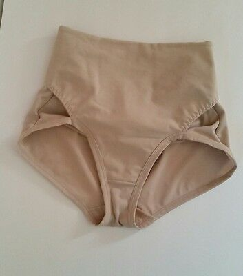 Leonisa Women's Postpartum Panty with Adjustable Belly Wrap Size Large