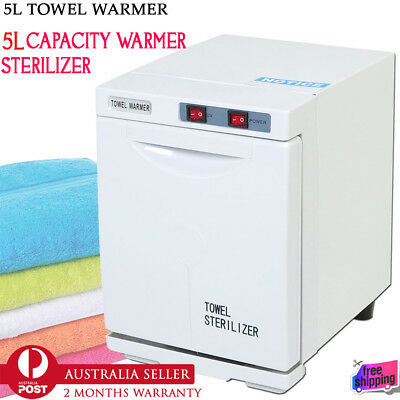 5L Towel Cabinet Salon Towel Warmer Barber Shop Towel Hot Cabinet UV Sterilizer