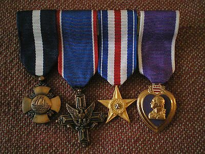 Vintage Group of Miniature US Navy Medals