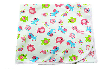 100cm*80cm Large Baby Girl Girly Infant Urine Mat Changing Pad Covers Change Mat