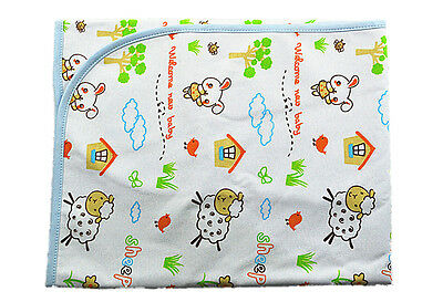 100cm*80cm Large Baby Infant Waterproof Urine Mat Changing Pad Covers Change Mat
