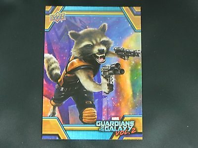 2017 UD Guardians of The Galaxy Vol. 2 RB-4 Rocket WALMART EXCLUSIVE