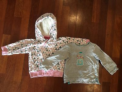 Baby Girl Size 1 Jumpers Hoodie