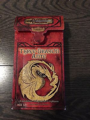DUNGEONS & DRAGONS THREE DRAGON ANTE 2005 First Edition 1st
