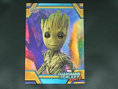 2017 UD Guardians of The Galaxy Vol. 2 RB-15 Groot WALMART EXCLUSIVE