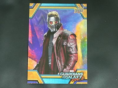 2017 UD Guardians of The Galaxy Vol. 2 RB-16 Star Lord WALMART EXCLUSIVE