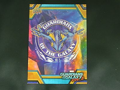 2017 UD Guardians of The Galaxy Vol. 2 RB-39 Milano Starship WALMART EXCLUSIVE