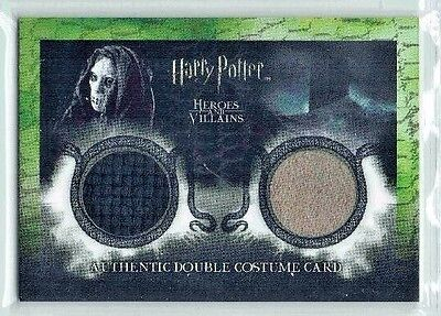Harry Potter Heroes & Villains Costume Card DC3 Death Eater POA Material 080/180
