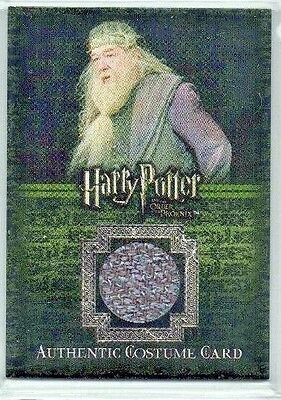 Harry Potter Order the Phoenix Albus Dumbledore Gambon C12 Costume Card 062/560