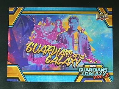 2017 UD Guardians of The Galaxy Vol. 2 RB-44 Star Lord WALMART EXCLUSIVE