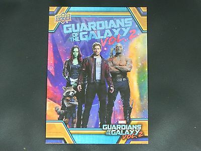 2017 UD Guardians of The Galaxy Vol. 2 RB-48 Star Lord WALMART EXCLUSIVE
