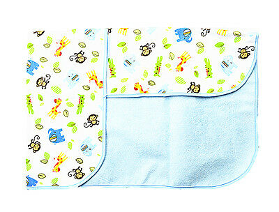 100cm*80cm Baby Boyish Infant Waterproof Urine Mat Changing Pad Cover Change Mat