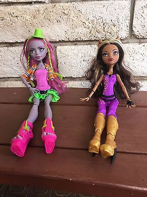 """Monster High """"Clawdeen Wolf"""" and """" Marisol Coxi"""" dolls"""